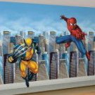 Spiderman Wolverine Mural Party Supplies