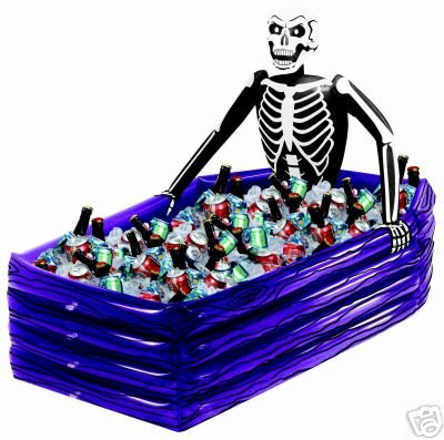 Halloween Skeleton Skulls Cooler Party Supplies