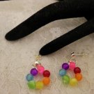 Cool Beaded Hoop style Earrings