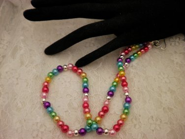 Beaded Pearled Necklace