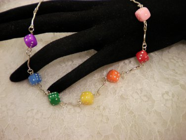Fun Dice Necklace