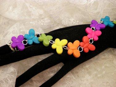 Colorful Butterfly Bracelet
