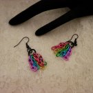 Color Chained Earrings
