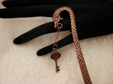 Copper Dragon Charmed Book Mark