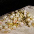 White and Gold Rosaries