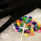 Colorful Wooden Rosaries