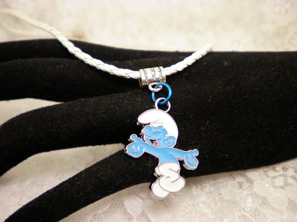 Cool Smurf Charm Necklace