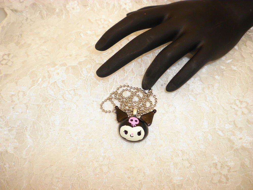 Hello Kitty Kuromi Pendant Necklace
