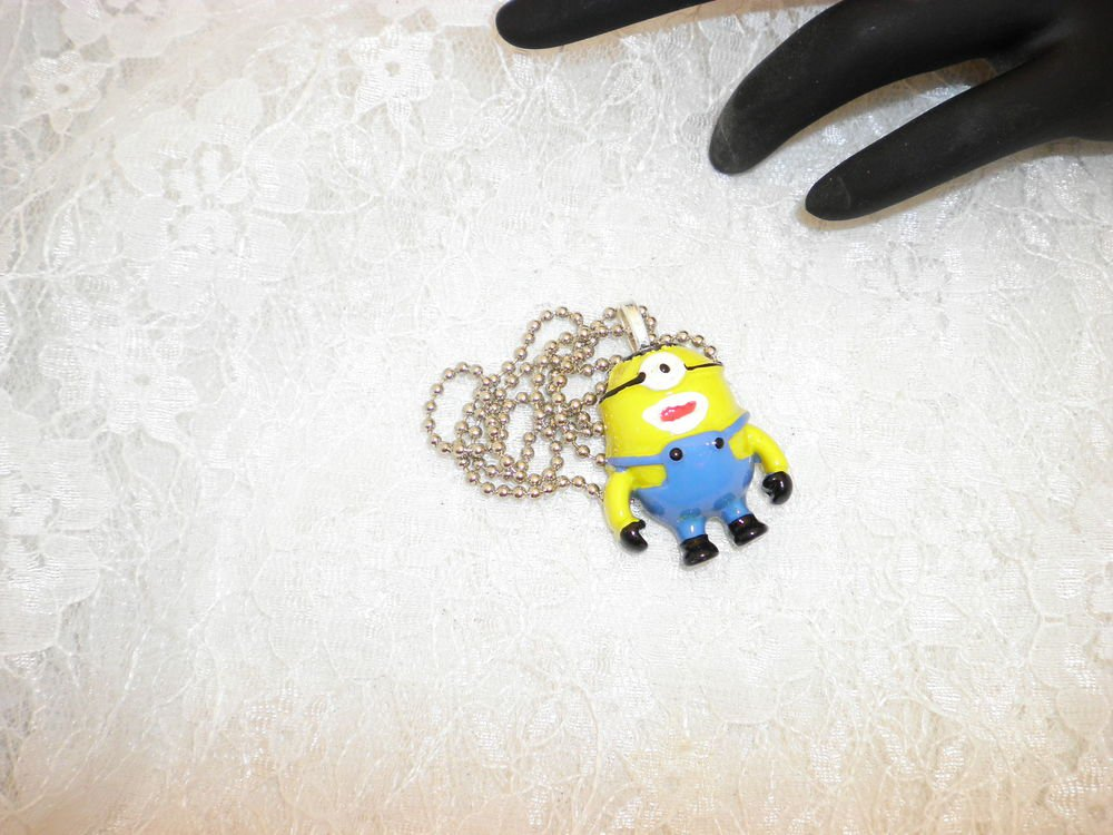 Minions Pendant Necklace
