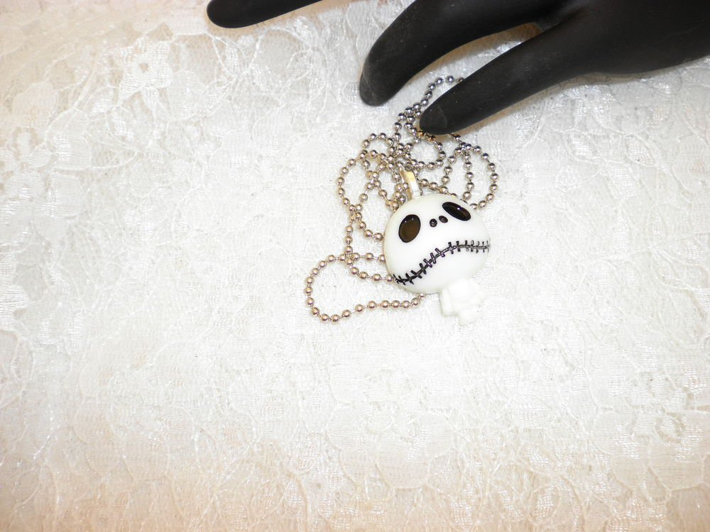 Jack : Nightmare Before Christmas Pendant Necklace Choose From Two Styles