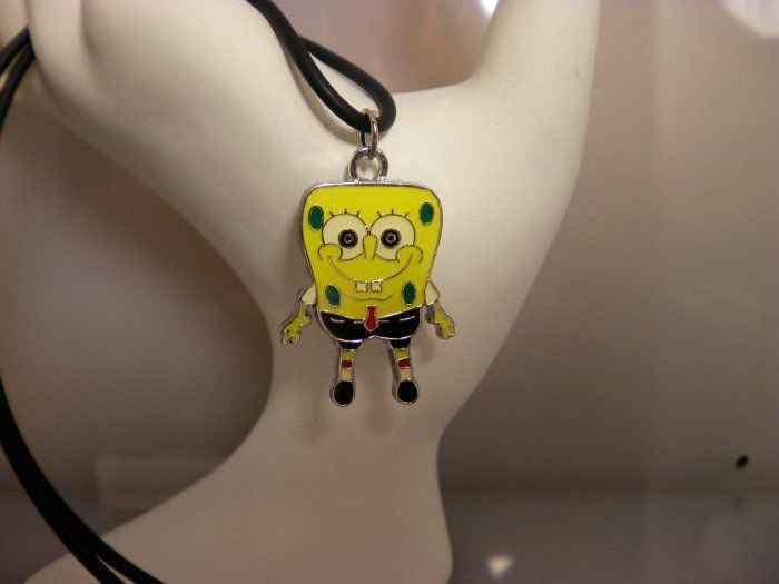 Sponge Bob Charm Necklace