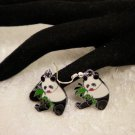 Cool Panda Charm Earrings