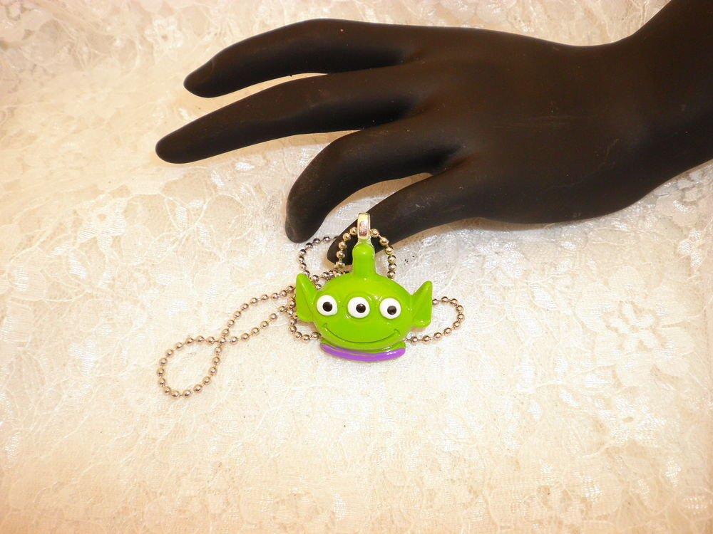 Alien Toy Story Charm Pendant Necklace