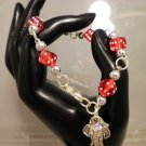 Alabama Diced Charmed Bracelet