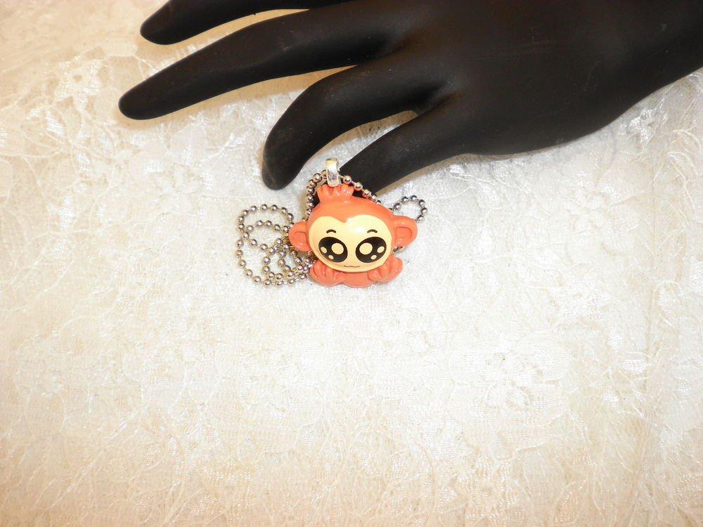 Anime Monkey Charm Pendant Necklace
