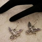 Cool Eagle Charm Earrings