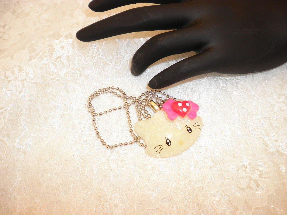 Hello Kitty Pendant Necklace