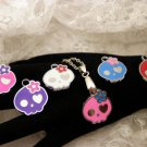 Sugar Skull Charm Necklace Choose ONE Color