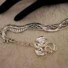 Silver Metal Dragon Chain Dragon Charmed Book Mark