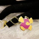 """RARE"" TY Beannie Platipuss Golden Charm Necklace Kids Jewelry"