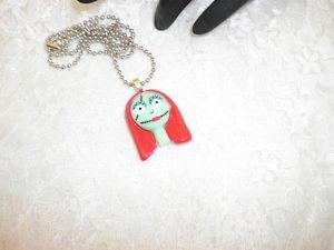 Nightmare Before Christmas: Character SALLY Resin Pendant Charm Ball Chain