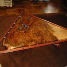 Hand carved coffe table, the style of George Nakashima