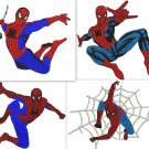 Spiderman 4 Digitized Machine Embroidery Designs  Machine Embroidery Design Pack