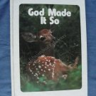 God Made It So Student Textbook Life Series 2nd Grade Level 5 SDA Reader