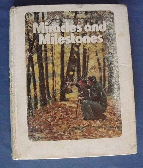 Miracles and Milestones Student Textbook Life Series 5th Grade Level 11 SDA Reader