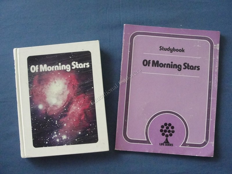 Of Morning Stars Student Textbook and Studybook Life Series 7th Grade Level 13 SDA Reader
