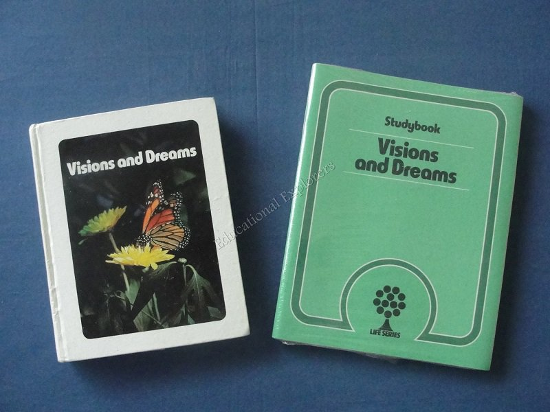Visions and Dreams Student Textbook and  Activity Set Life Series 8th Grade Level 15 SDA Reader
