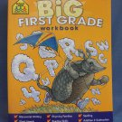 Big First Grade Workbook School Zone New