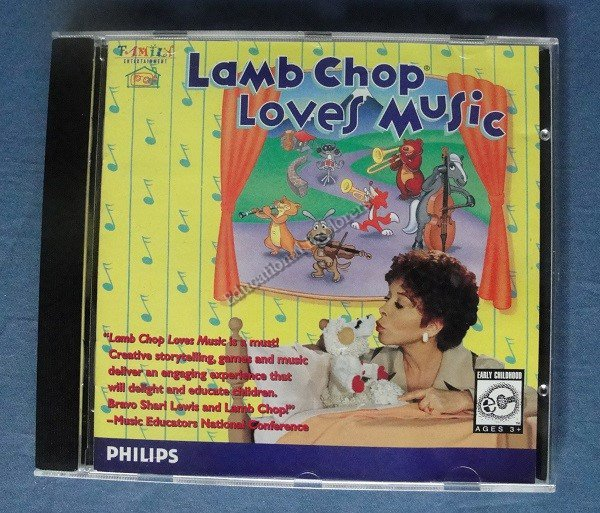 Lamb Chop Loves Music Shari Lewis Family Entertainment Musical Instruments