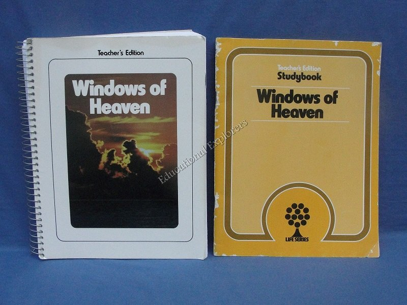 Windows of Heaven Teacher Edition and Studybook  Life Series 3rd Grade Level 8 SDA