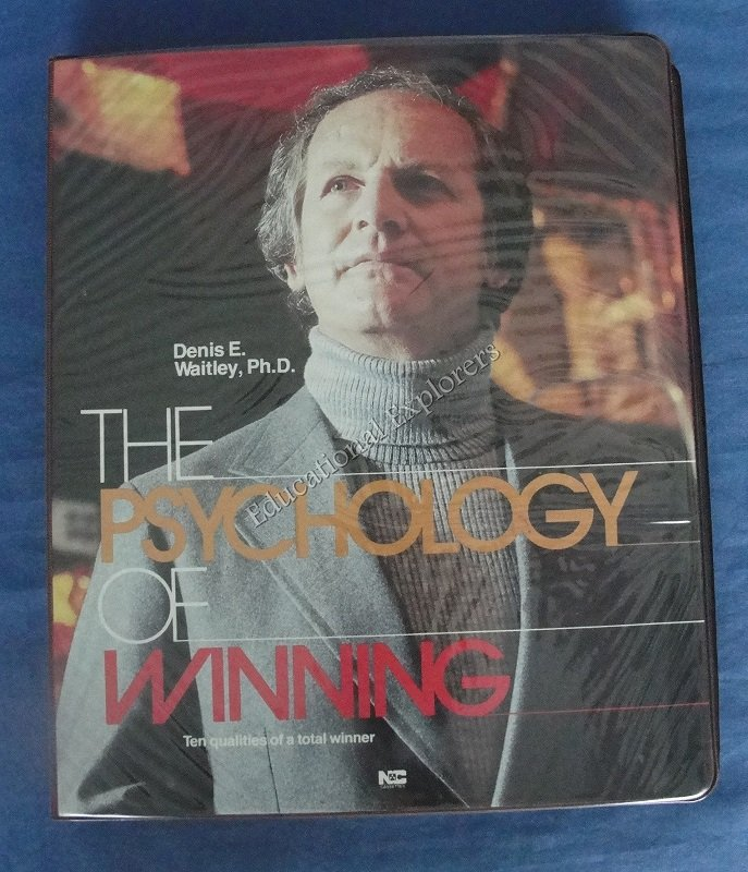 The Psychology of Winning with Denis E. Waitley, Ph.D. Self Help Success 6 Audio Cassettes