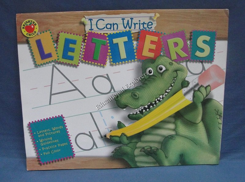 I Can Write Letters Brighter Child