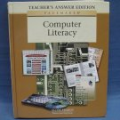 Computer Literacy Teacher's Answer Edition Pearson Learning Company