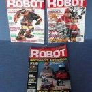 Robot Magazines Robotics Spring Summer Fall 2006