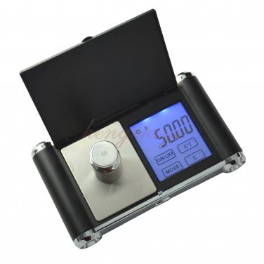 200g x 0.01g Precision Digital Touch Screen Jewelry Pocket Scale w Big LCD + Counting, Free Shipping
