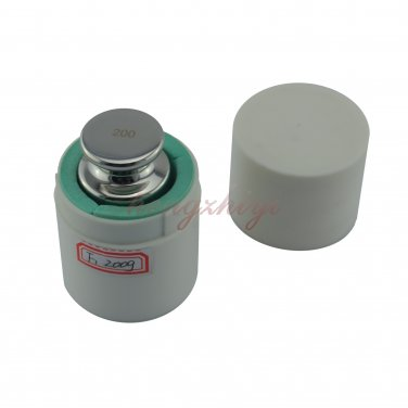 F1 Grade 200g Stainless Steel Scale Balance Calibration Weight w Certificate, Free Shipping
