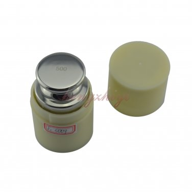 F1 Class 500g Scale Balance Calibration Weight w 304 Stainless Steel w Case, Free Shipping