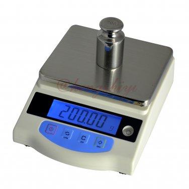 2000g x 0.01g High Precision Digital Scale Balance w Germany HBM Sensor + Counting, Free Shipping