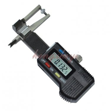 0-25mm Mini Pocket Jewel Gem Diamond Thickness Gauge Caliper w 0.01mm Reading, Free Shipping