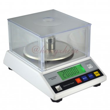 1000g x 0.01g Electronic Jewelry Gold Silver Scale w Wind Shield + Germany Sensor, Free Shipping