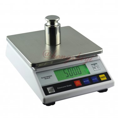 6kg x 0.1g Digital Precision Lab Weighing Scale w Counting Table Top Balance, Free Shipping