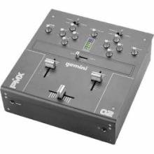 "Gemini PMX02 2 CHANNEL 10"" 2 PHONO 4 LINE MIXER"