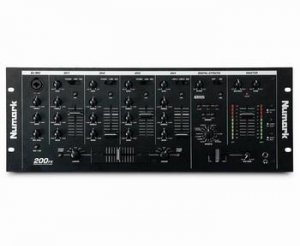 NUMARK 200FX Vocal Effects Mixer w/16 professional digital effects