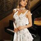 Blue Floral Baby Doll   Item 4049