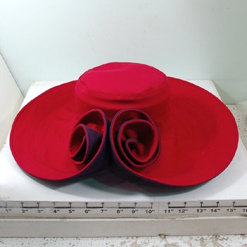 CANVAS FLOWER SHAPED SUN HAT