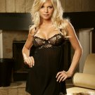Embroidered Mesh Baby Doll   Item 4043X